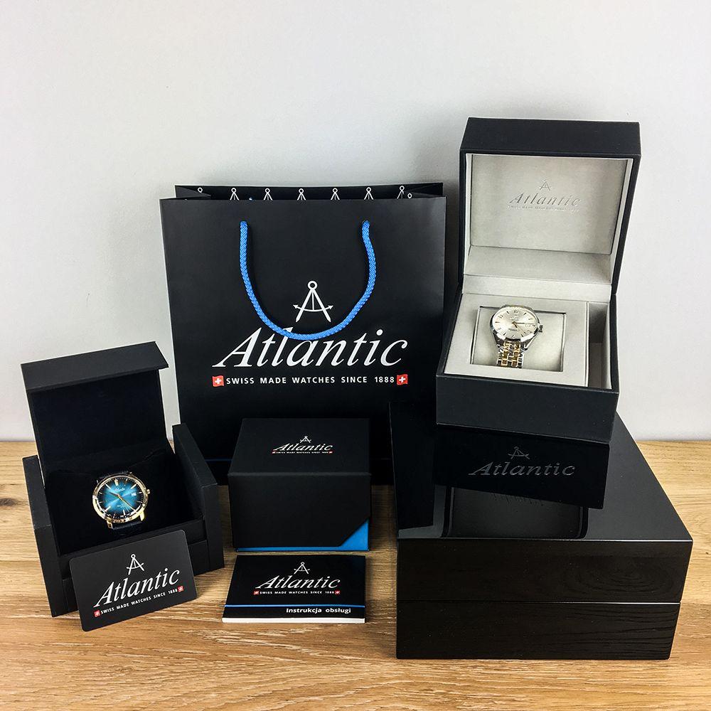 Zegarek damski Atlantic elegance 29036.41.21MB - duże 5