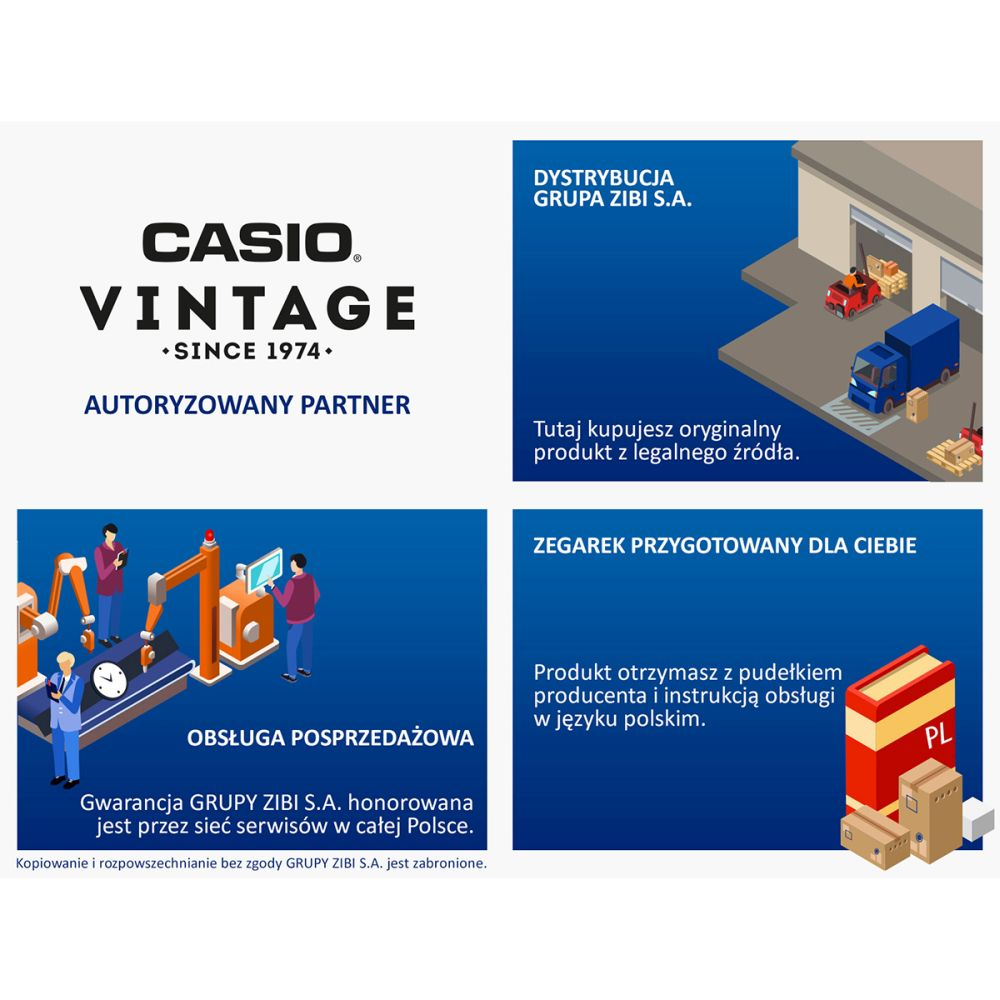 Zegarek męski Casio vintage maxi DB-360GN-9AEF - duże 2
