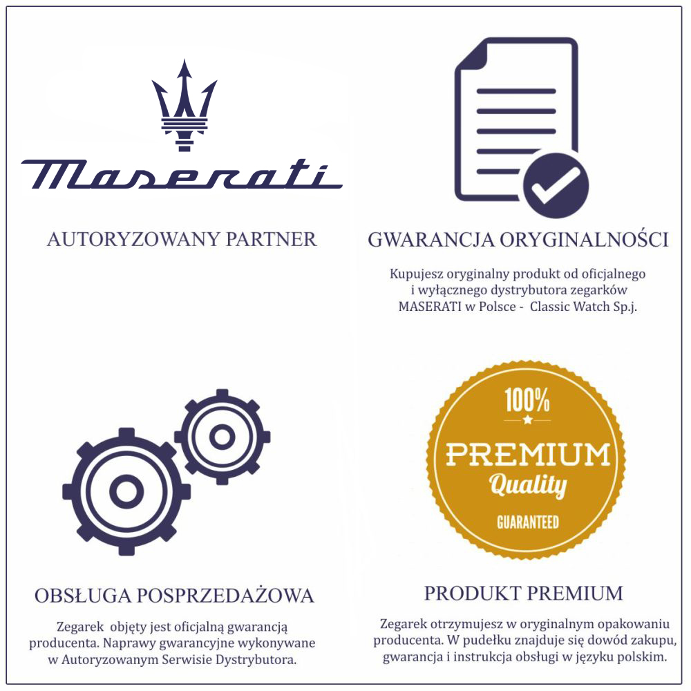 Zegarek męski Maserati traguardo R8871612004 - duże 1
