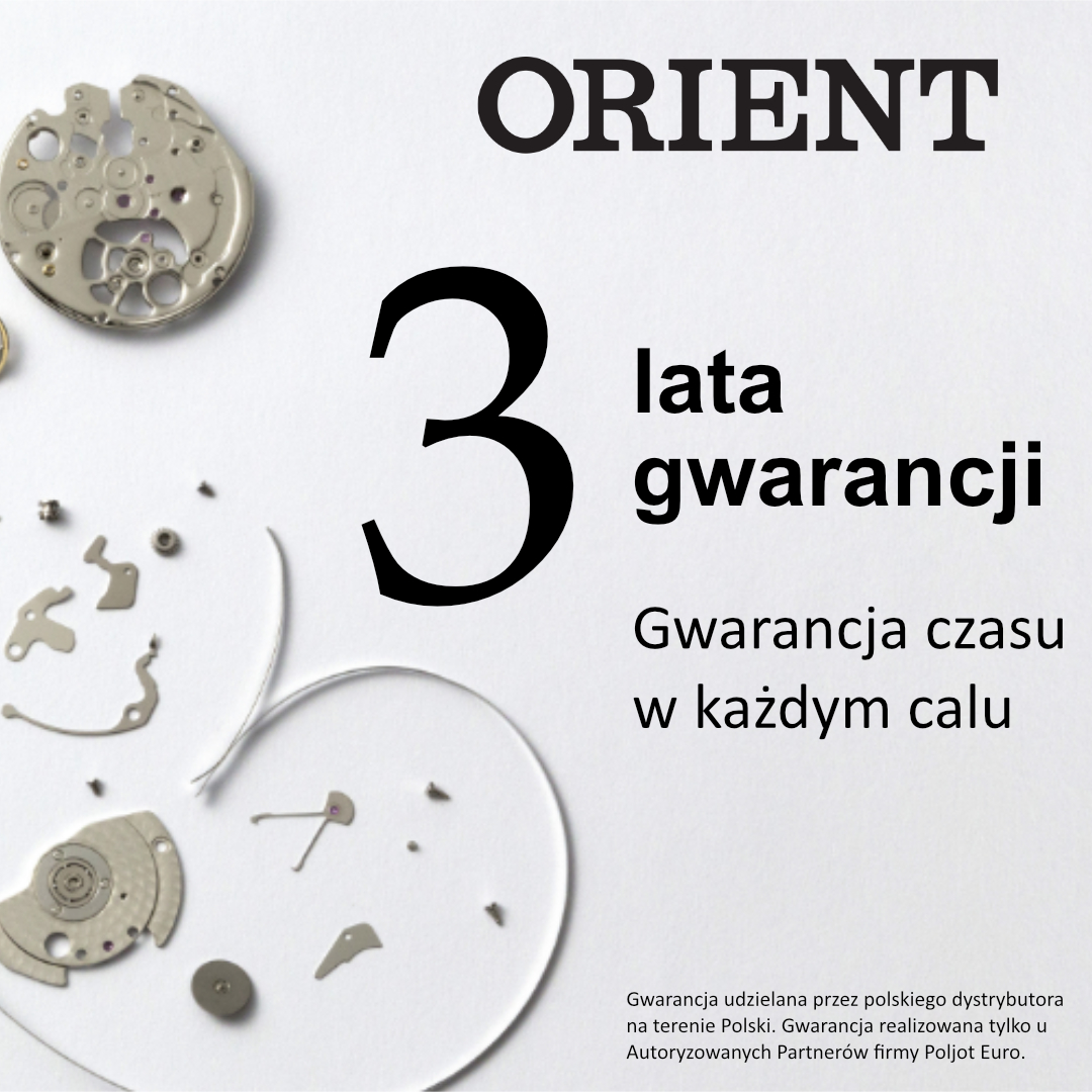 Zegarek męski Orient contemporary FEU00002DW - duże 3