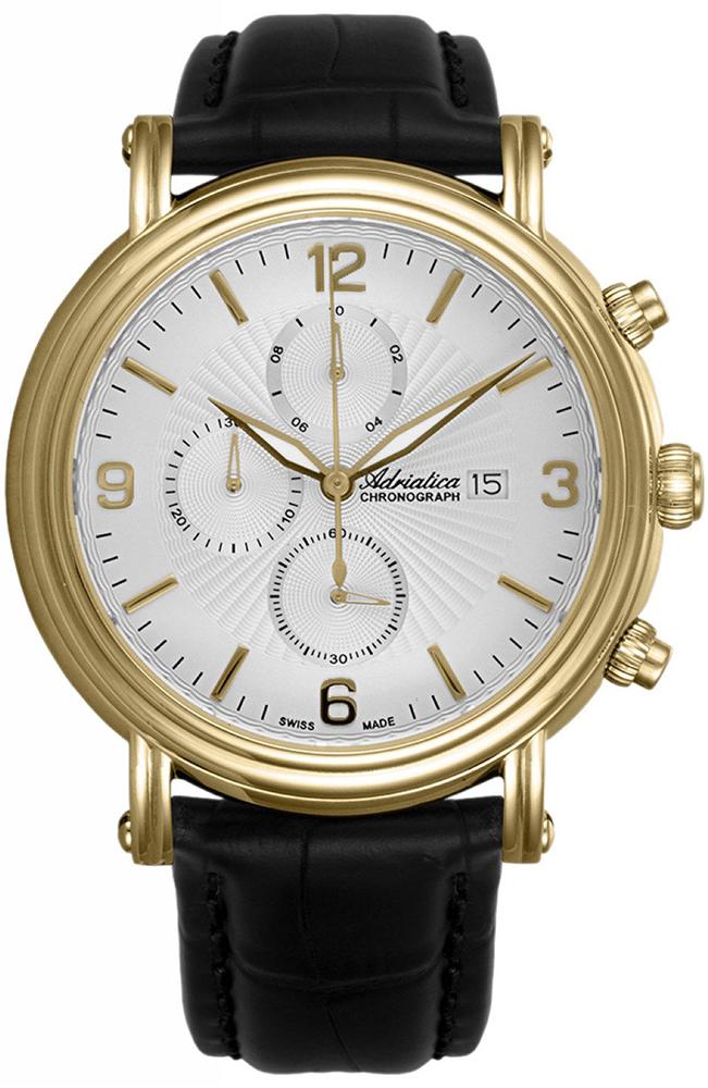 Zegarek męski Adriatica pasek A1194.1253CH - duże 1