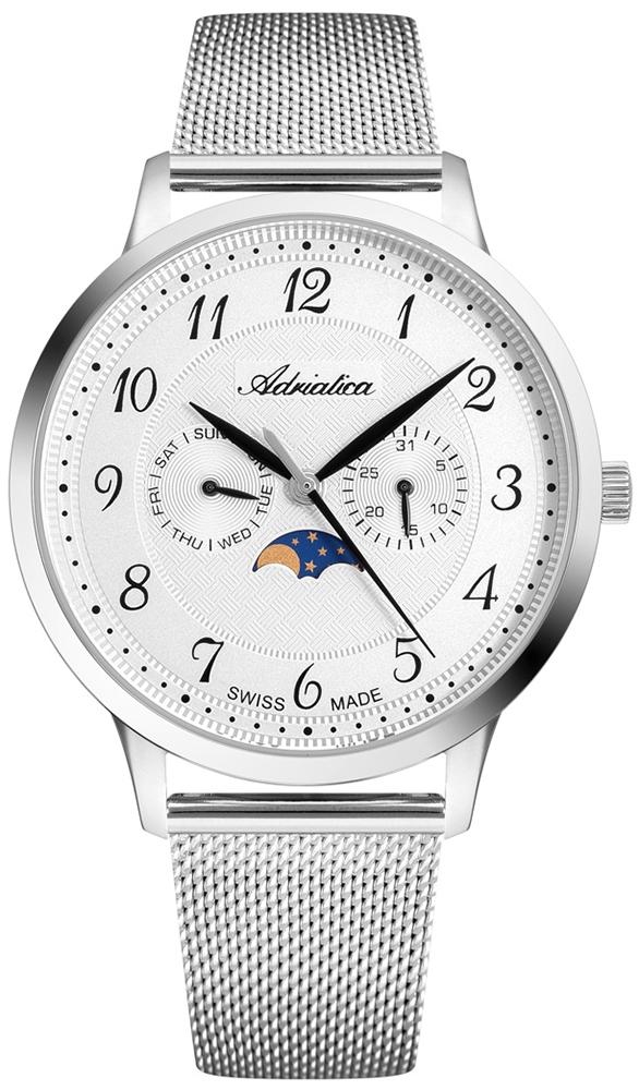 Zegarek męski Adriatica bransoleta A1274.5123QF - duże 1