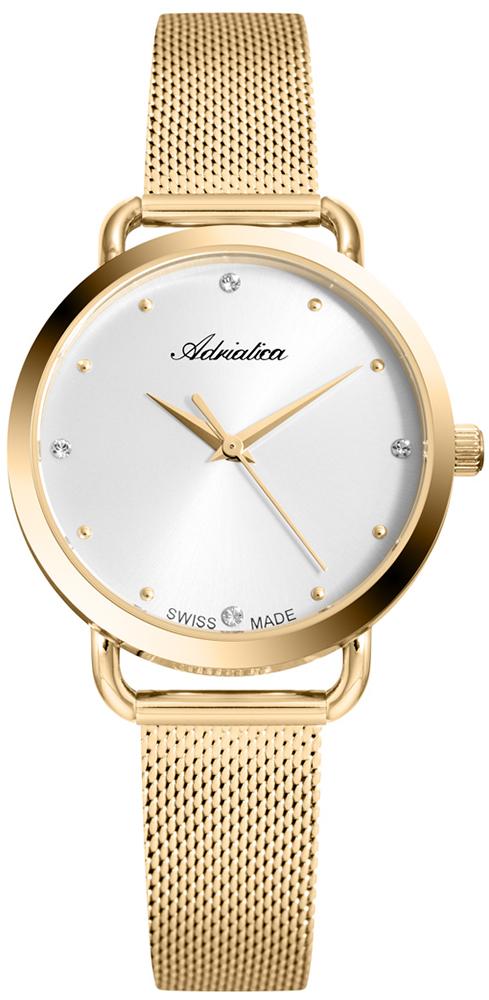 Zegarek damski Adriatica damskie A3730.1143Q - duże 1