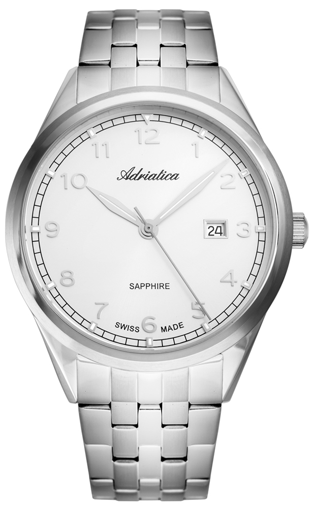Zegarek męski Adriatica bransoleta A8260.5123Q - duże 1