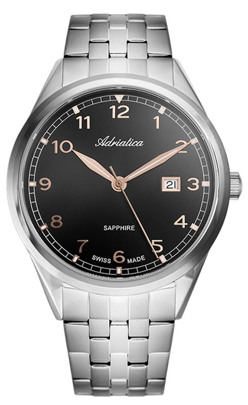 Zegarek męski Adriatica bransoleta A8260.51R4Q - duże 1