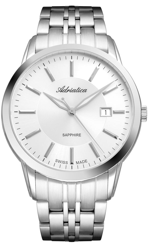 Zegarek męski Adriatica bransoleta A8306.5113Q - duże 1