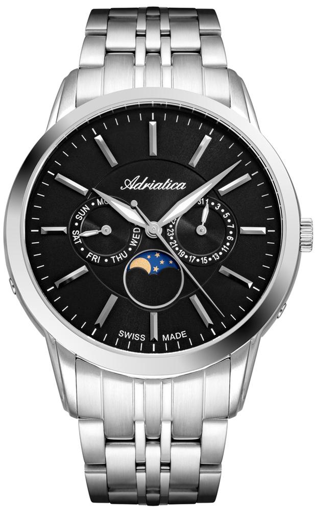 Zegarek męski Adriatica bransoleta A8306.5114QF - duże 1