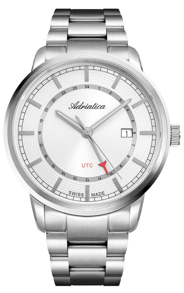 Zegarek męski Adriatica bransoleta A8307.5113Q - duże 1