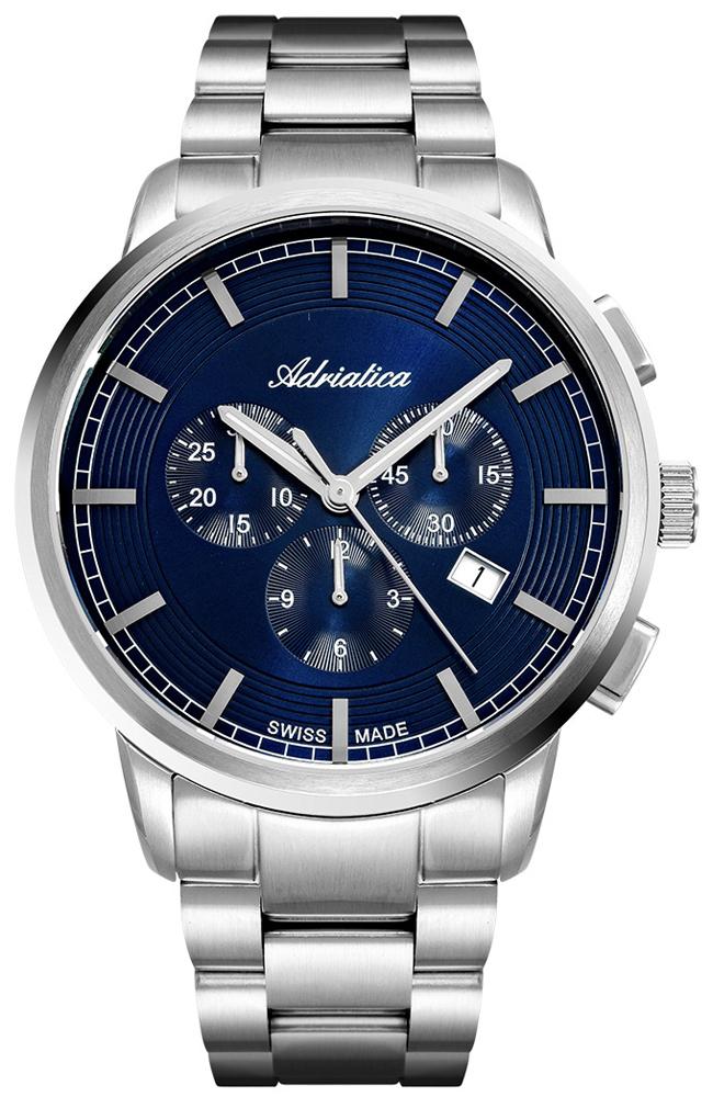 Zegarek męski Adriatica bransoleta A8307.5115CH - duże 1