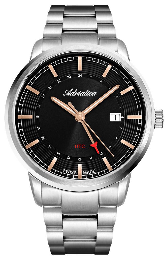 Zegarek męski Adriatica bransoleta A8307.51R6Q - duże 1
