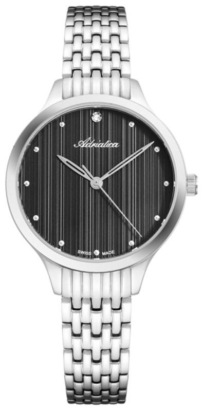Zegarek damski Adriatica bransoleta A3768.5146Q - duże 1