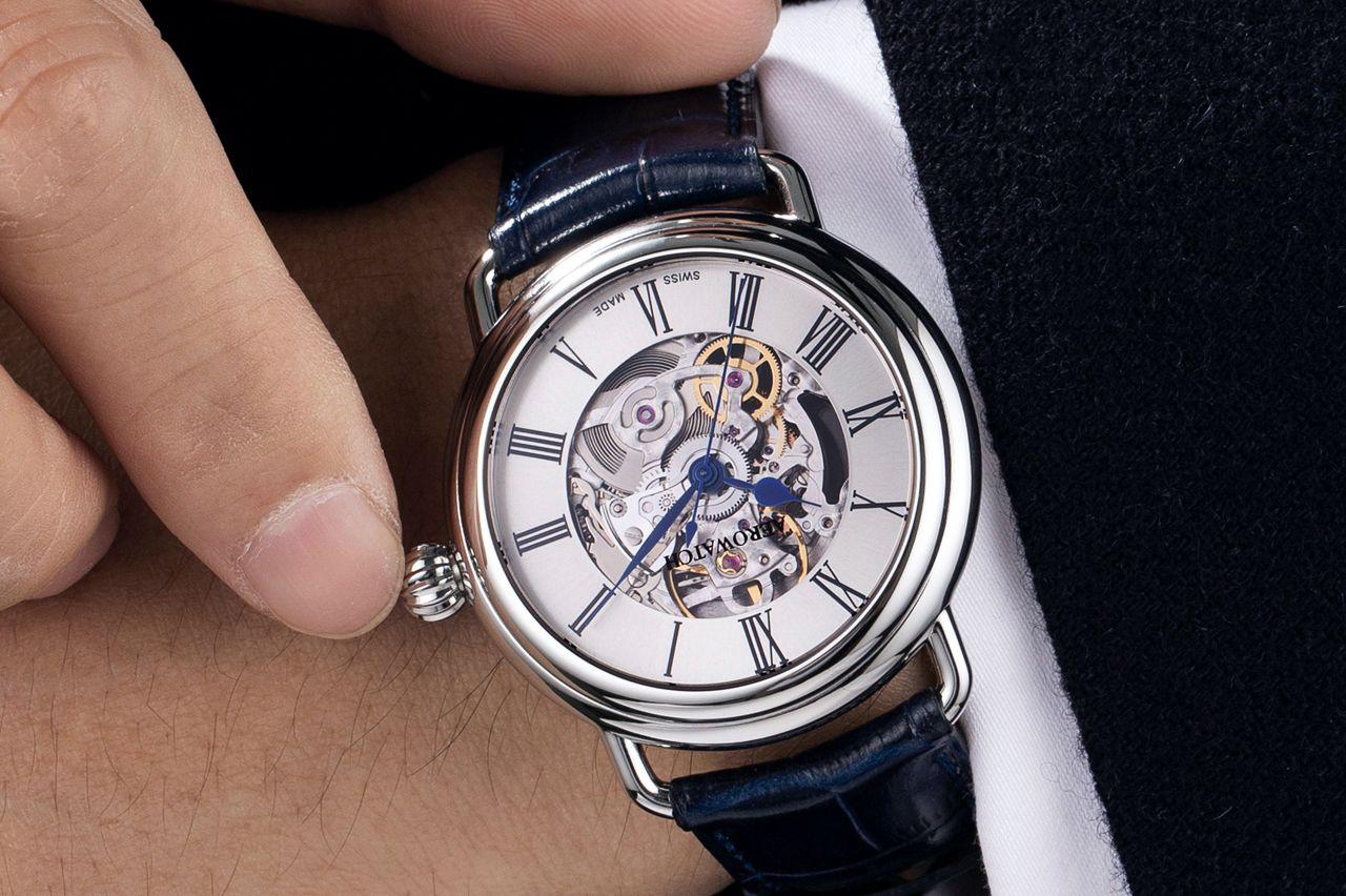 Zegarek męski Aerowatch 1942 60900-AA22 - duże 7