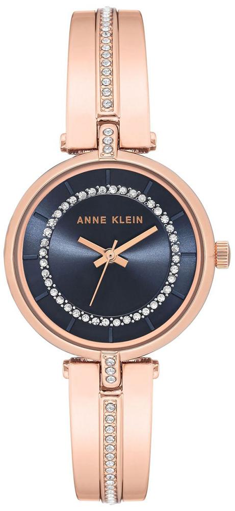 Zegarek damski Anne Klein bransoleta AK-3248NVRG - duże 1