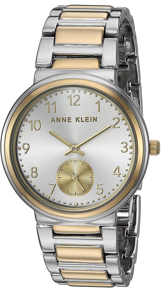 Zegarek damski Anne Klein bransoleta AK-3407SVTT - duże 1