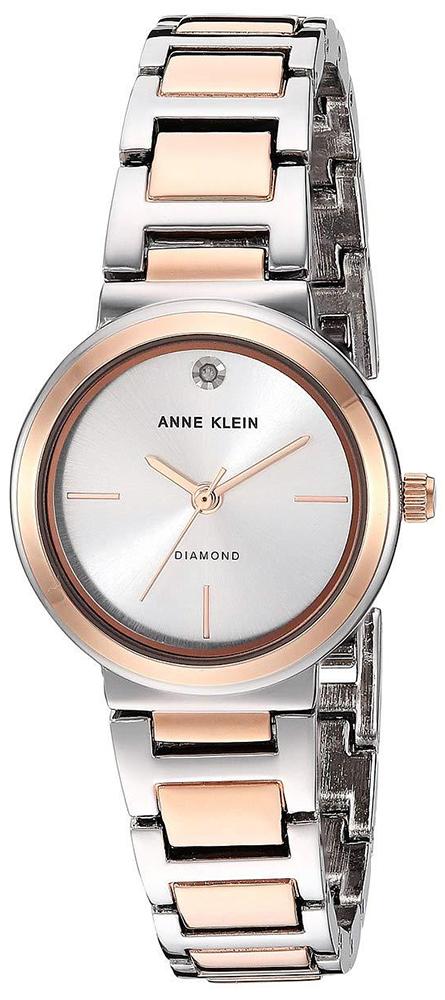 Zegarek damski Anne Klein bransoleta AK-3529SVRT - duże 1