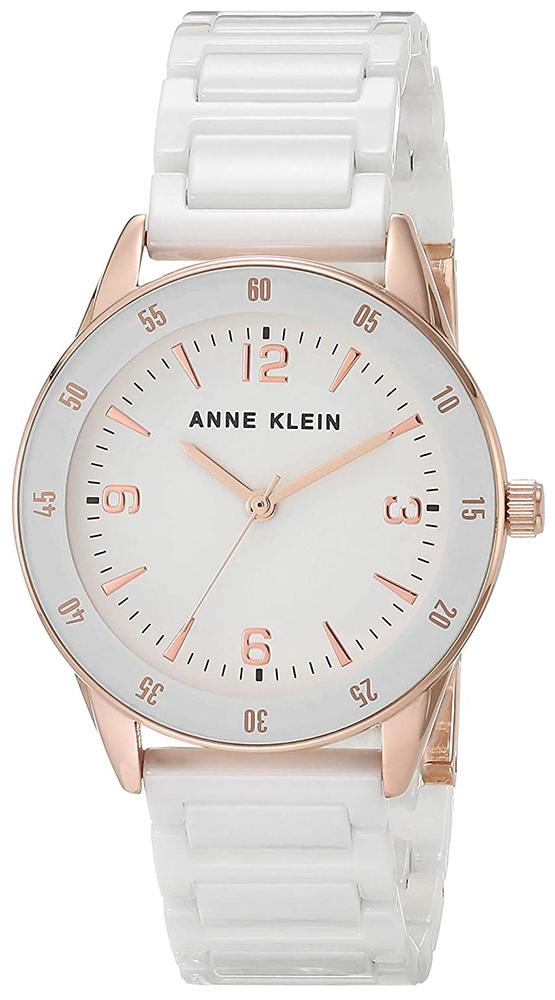 Zegarek damski Anne Klein bransoleta AK-3658RGWT - duże 1