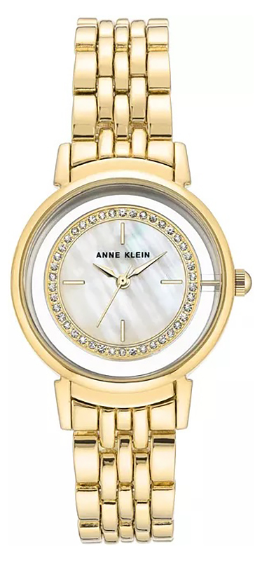 Zegarek damski Anne Klein bransoleta AK-3692MPGB - duże 1