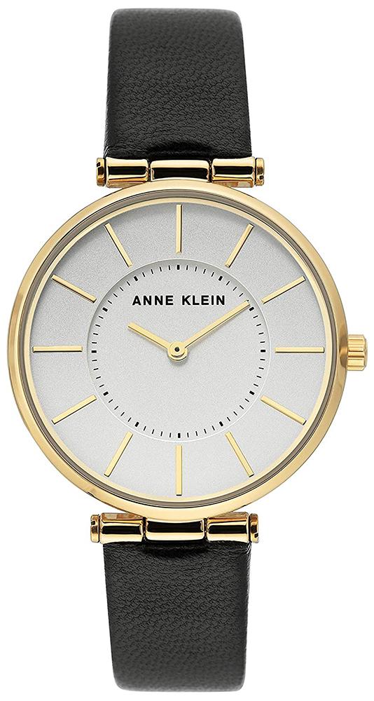 Zegarek damski Anne Klein pasek AK-3696SVBK - duże 1