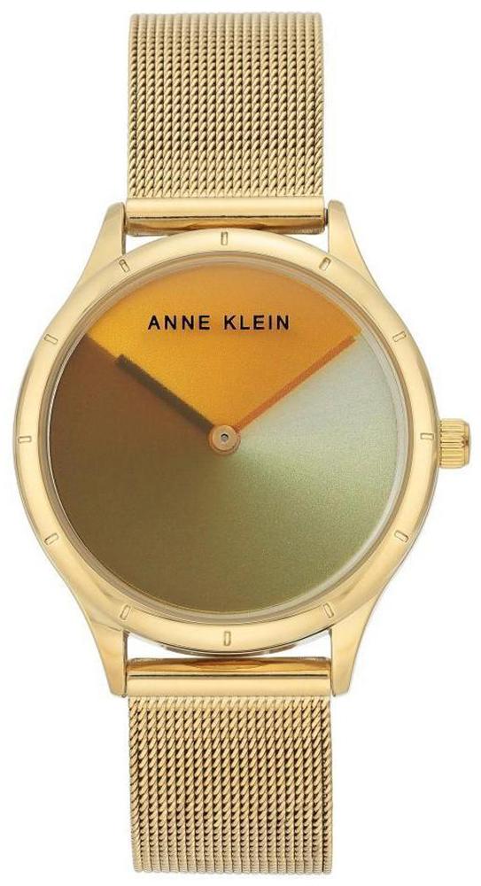 Zegarek damski Anne Klein bransoleta AK-3776MTGB - duże 1