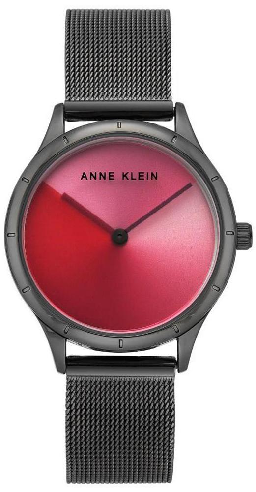 Zegarek damski Anne Klein bransoleta AK-3777MTGY - duże 1