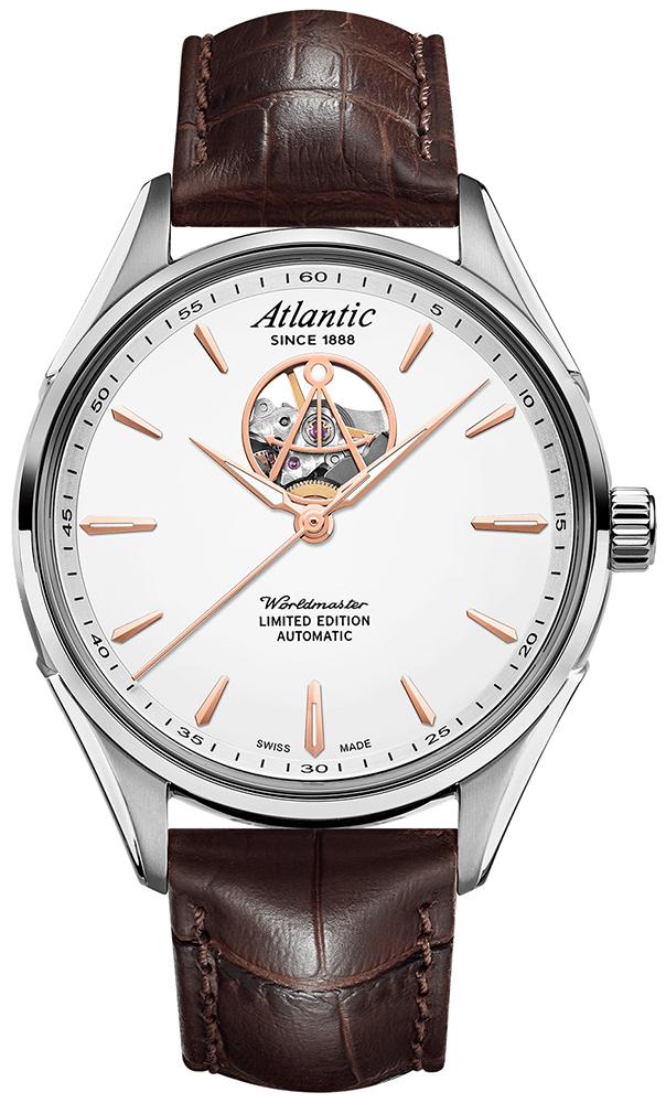 Zegarek męski Atlantic worldmaster 52780.41.21R - duże 1