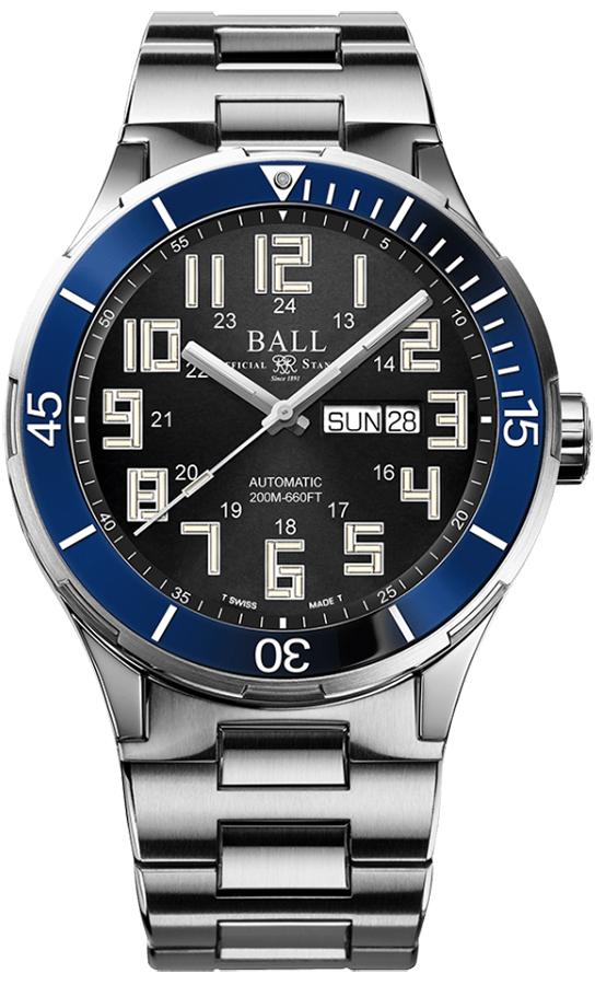 Zegarek męski Ball roadmaster DM3050B-S5-BK - duże 1
