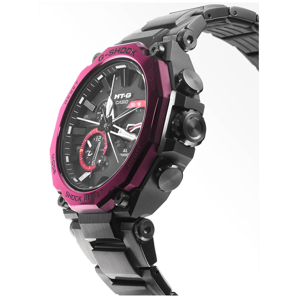 Zegarek męski Casio g-shock exclusive MTG-B2000BD-1A4ER - duże 3