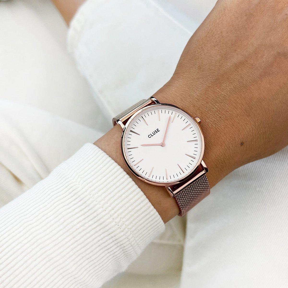 Zegarek damski Cluse boho chic CW0101201001 - duże 9