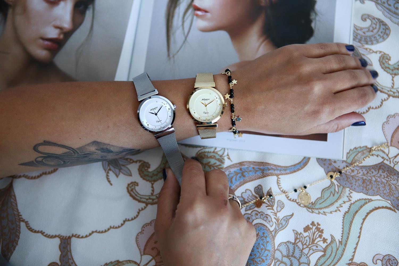 Zegarek damski Atlantic elegance 29039.45.39MB - duże 6