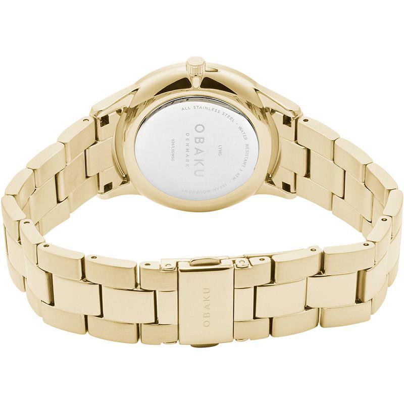 Zegarek damski Obaku Denmark slim V247LXGWSG - duże 4