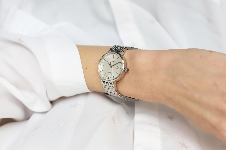 Zegarek damski Adriatica bransoleta A3170.5113Q - duże 2