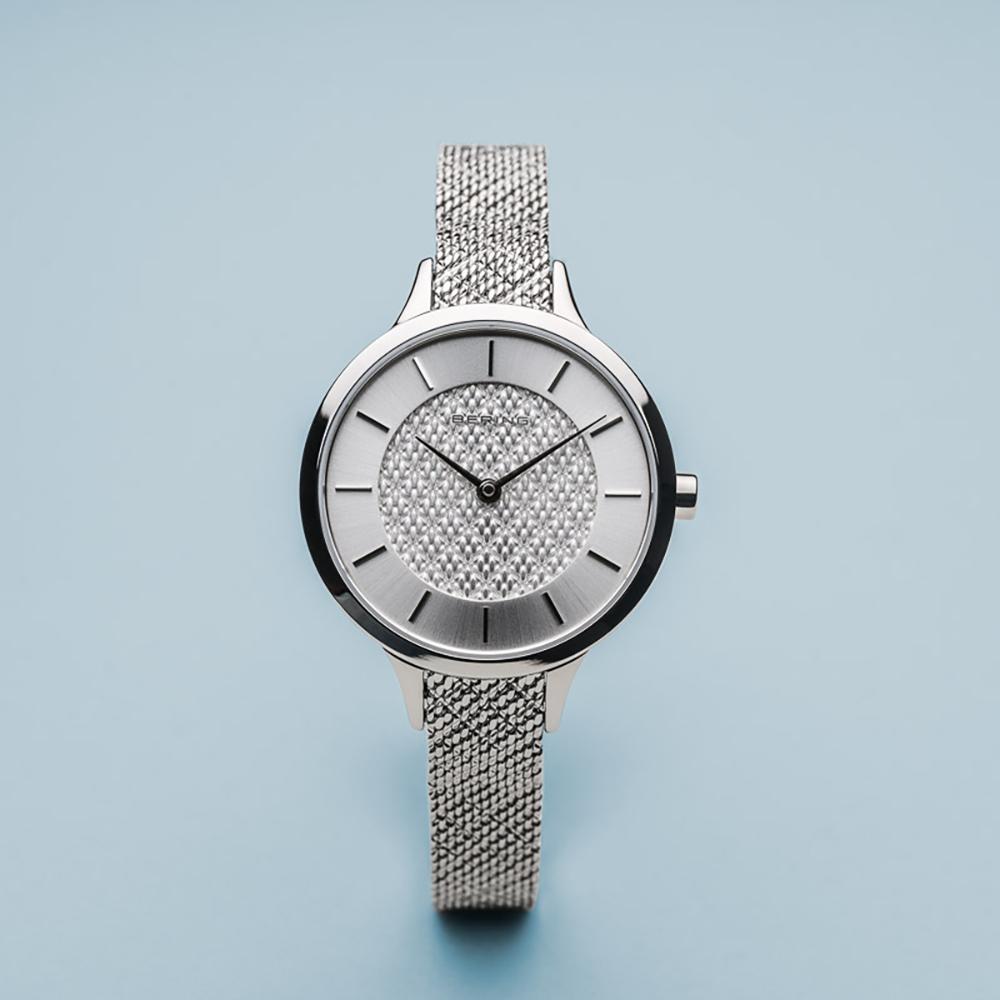 Zegarek damski Bering classic 17831-000 - duże 4