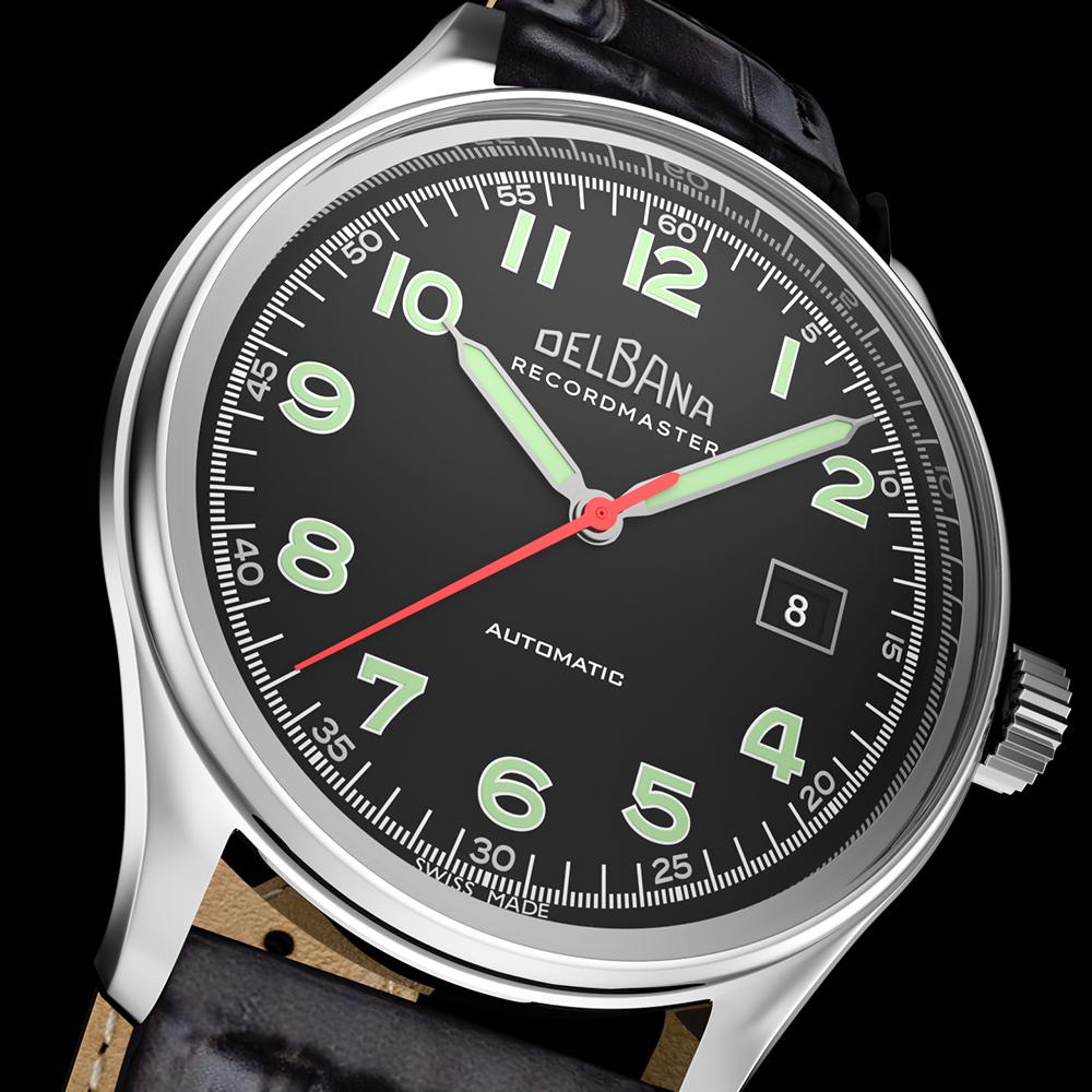 Zegarek męski Delbana recordmaster 41602.722.6.032 - duże 7
