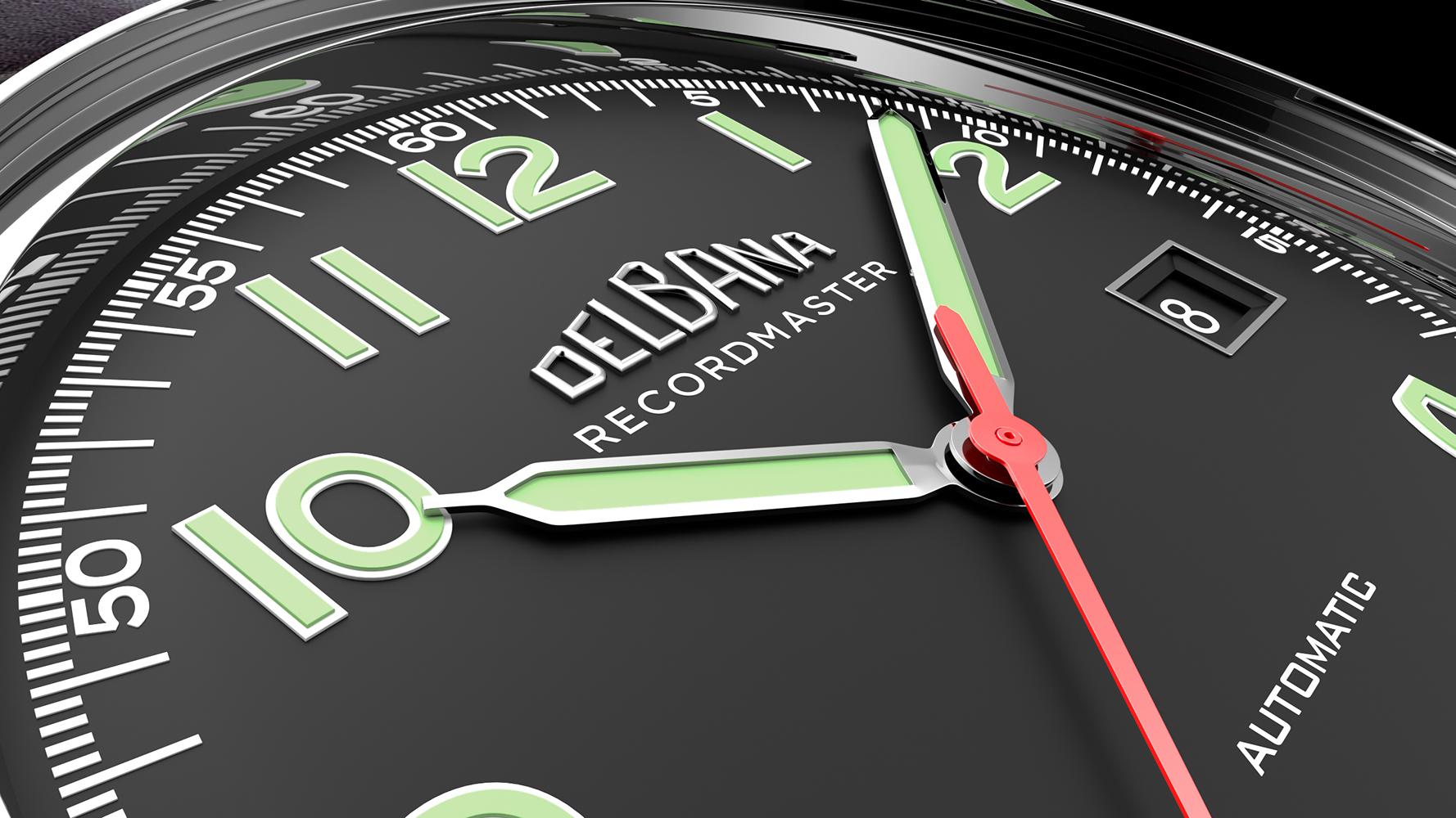 Zegarek męski Delbana recordmaster 41602.722.6.032 - duże 6