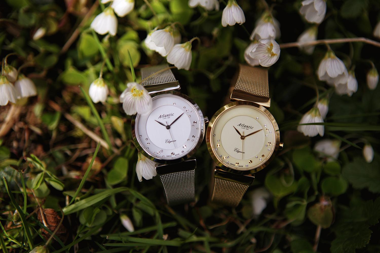 Zegarek damski Atlantic elegance 29039.41.29MB - duże 5