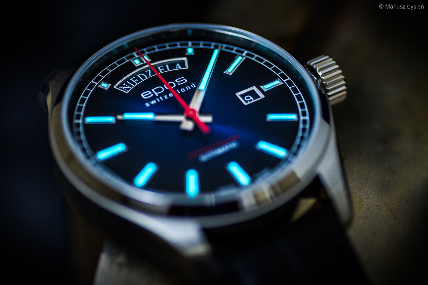 Zegarek męski Epos passion 3501.142.90.96.25 - duże 10