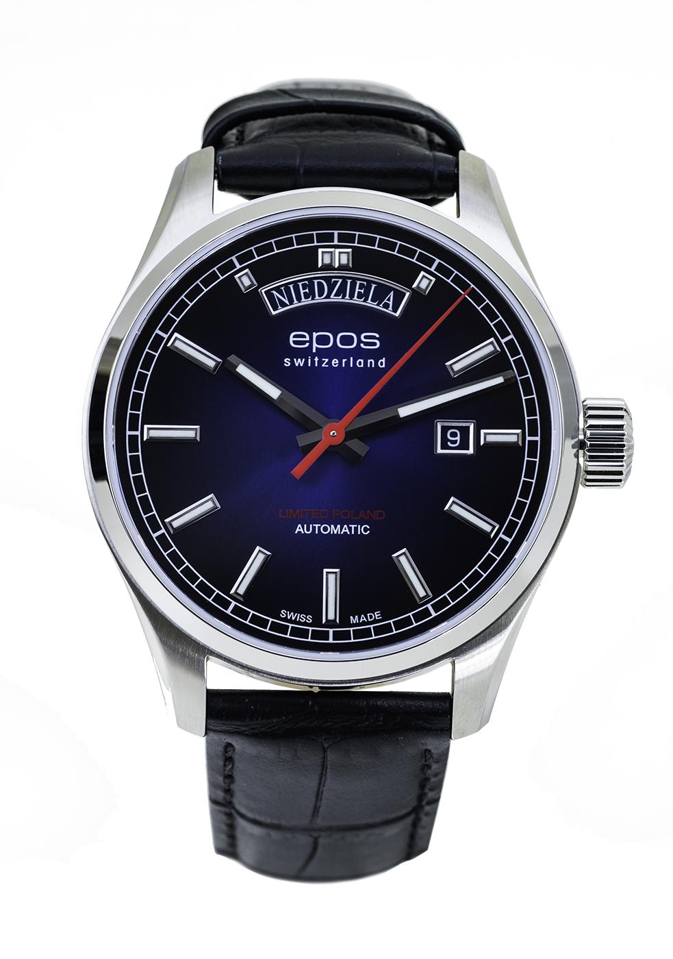 Zegarek męski Epos passion 3501.142.90.96.25 - duże 1