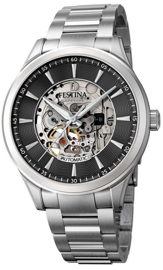 Zegarek męski Festina classic F20536-4 - duże 1