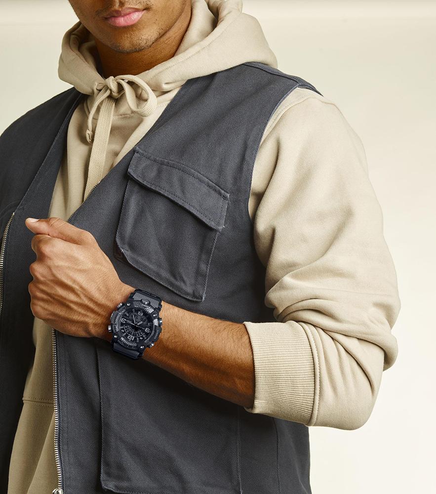 Zegarek męski Casio g-shock master of g GG-B100-8AER - duże 3