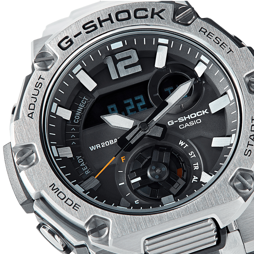 Zegarek męski Casio g-shock g-steel GST-B300SD-1AER - duże 2