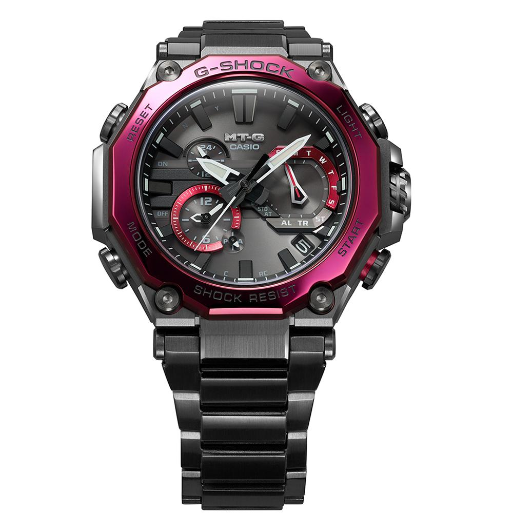 Zegarek męski Casio g-shock exclusive MTG-B2000BD-1A4ER - duże 1