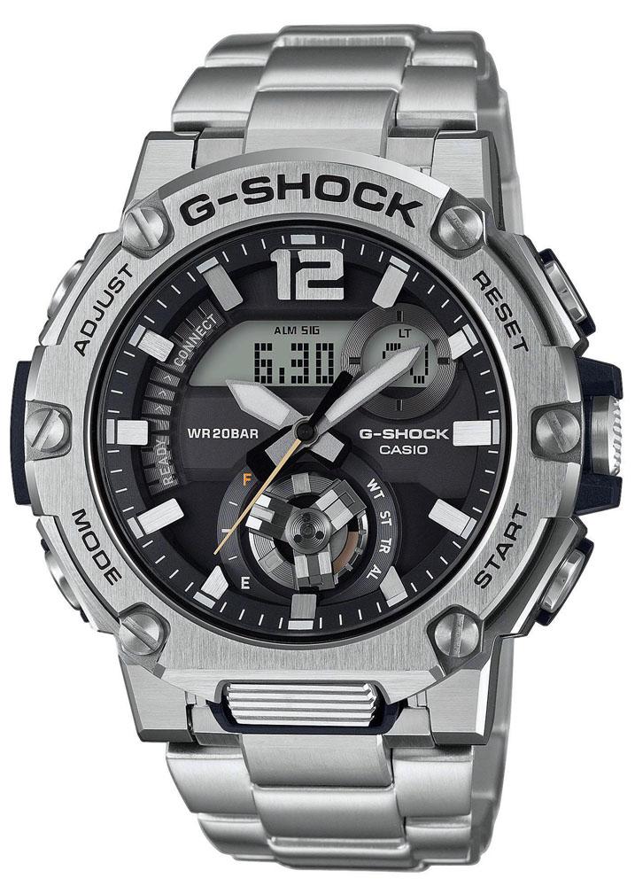 Zegarek męski Casio g-shock g-steel GST-B300SD-1AER - duże 1