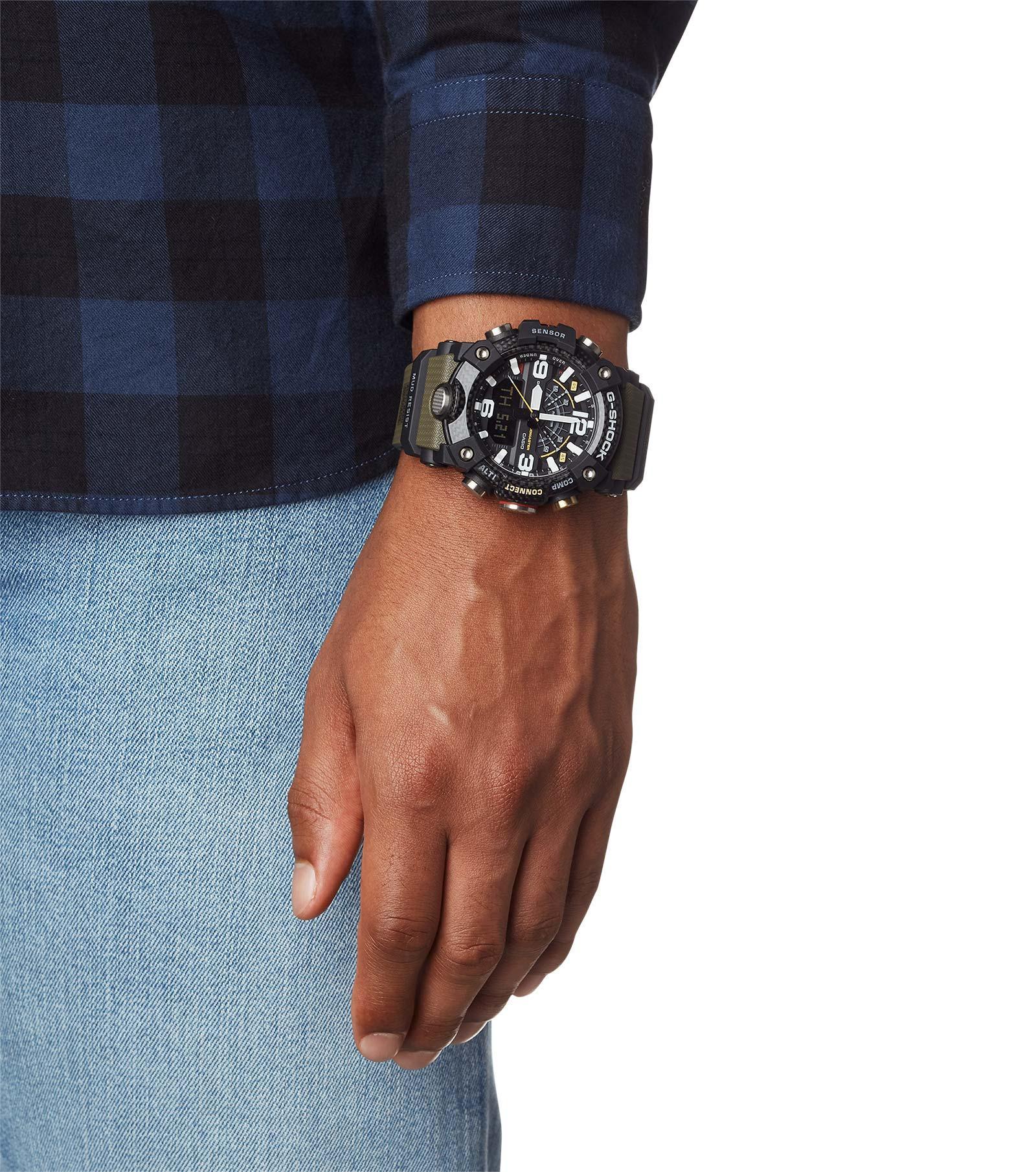 Zegarek męski Casio g-shock master of g GG-B100-1A3ER - duże 4