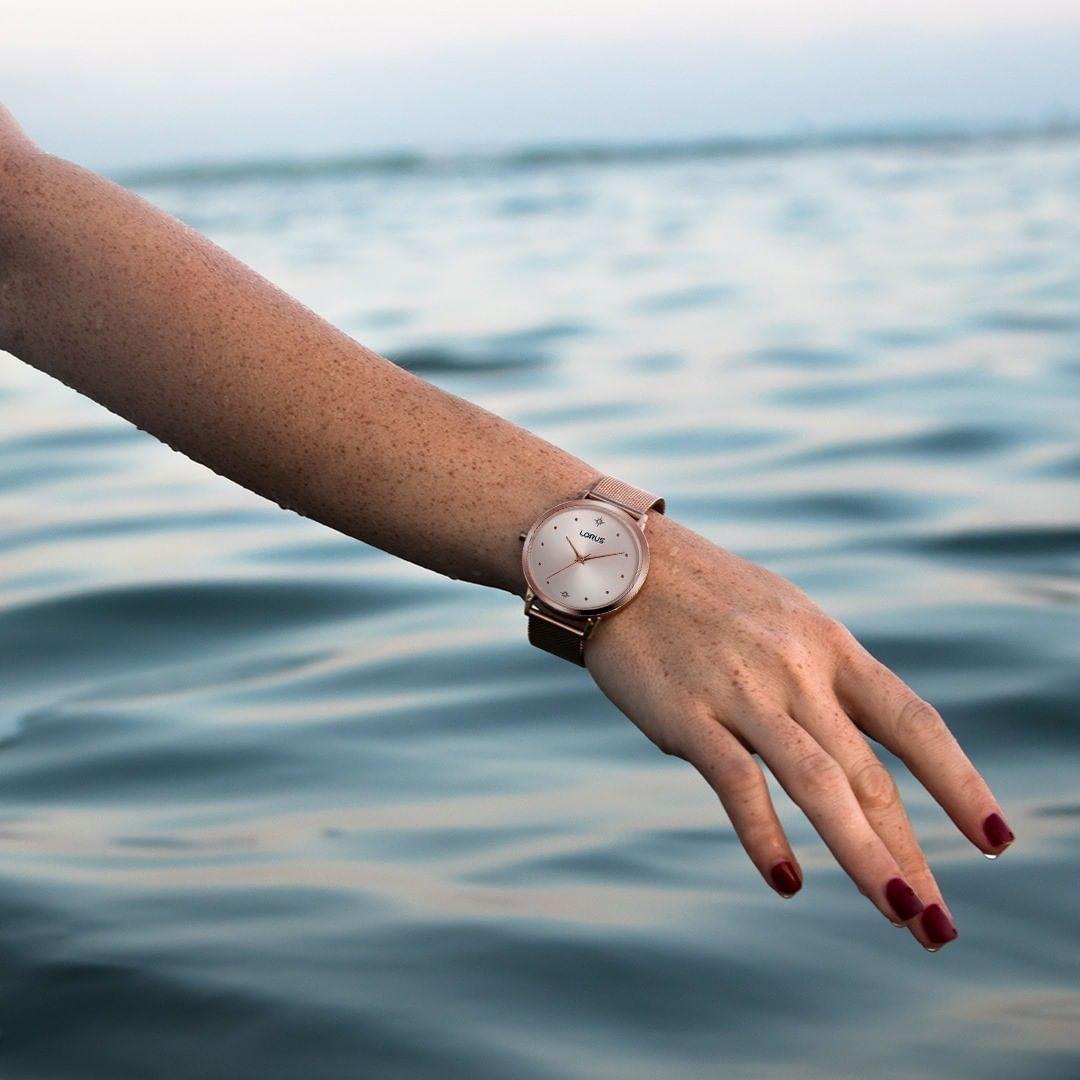 Zegarek damski Lorus klasyczne RG250PX9 - duże 5