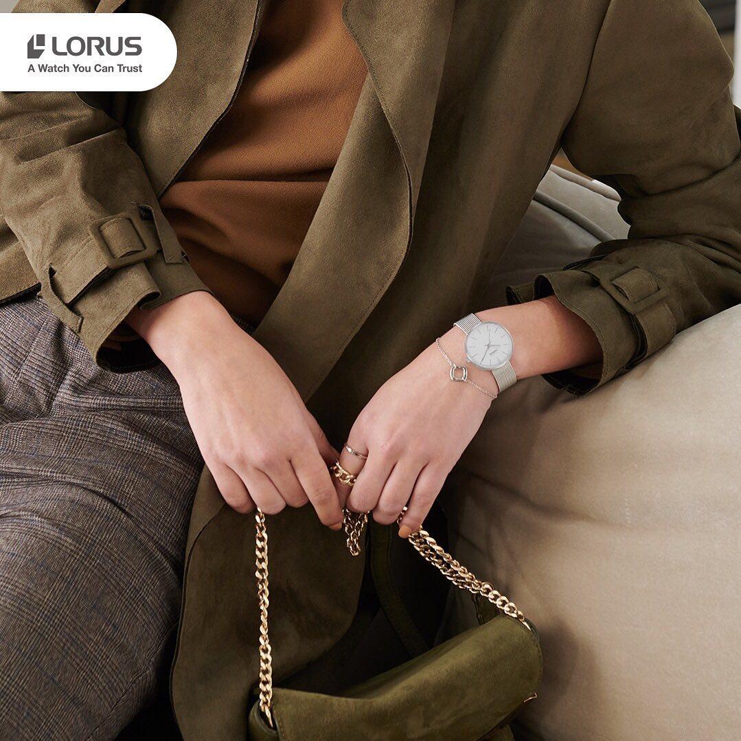 Zegarek damski Lorus klasyczne RG209QX9 - duże 5