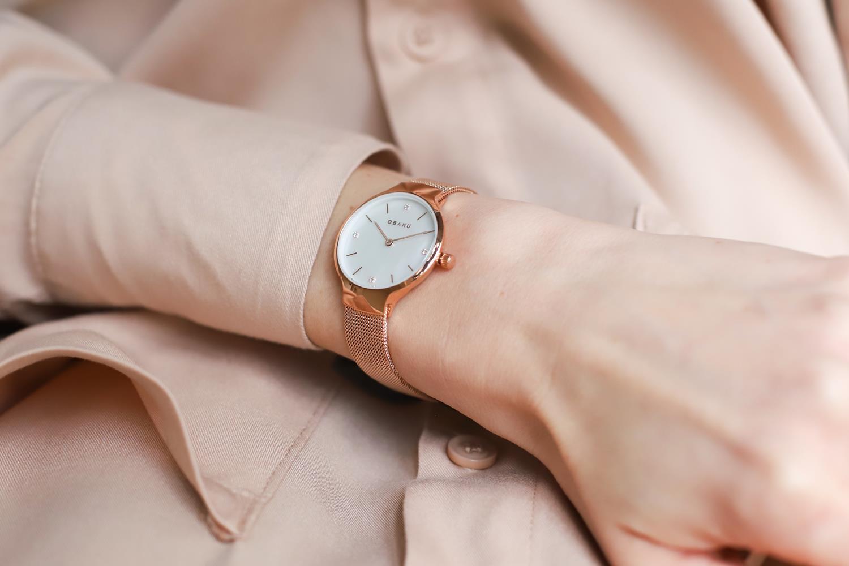 Zegarek damski Obaku Denmark slim V241LXVWMV - duże 5