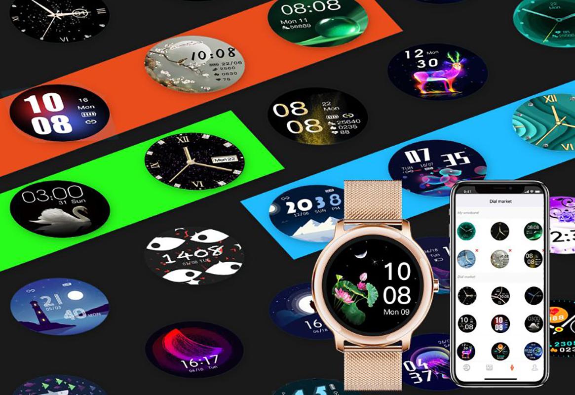 Zegarek damski Rubicon smartwatch SMARUB055 - duże 14