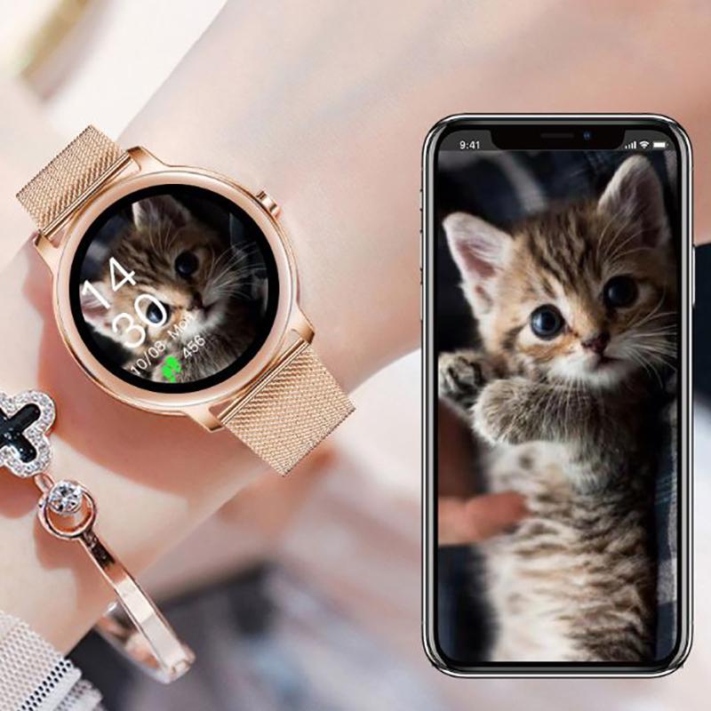 Zegarek damski Rubicon smartwatch SMARUB055 - duże 9