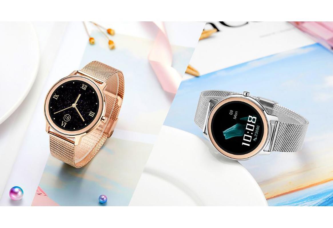 Zegarek damski Rubicon smartwatch SMARUB055 - duże 12