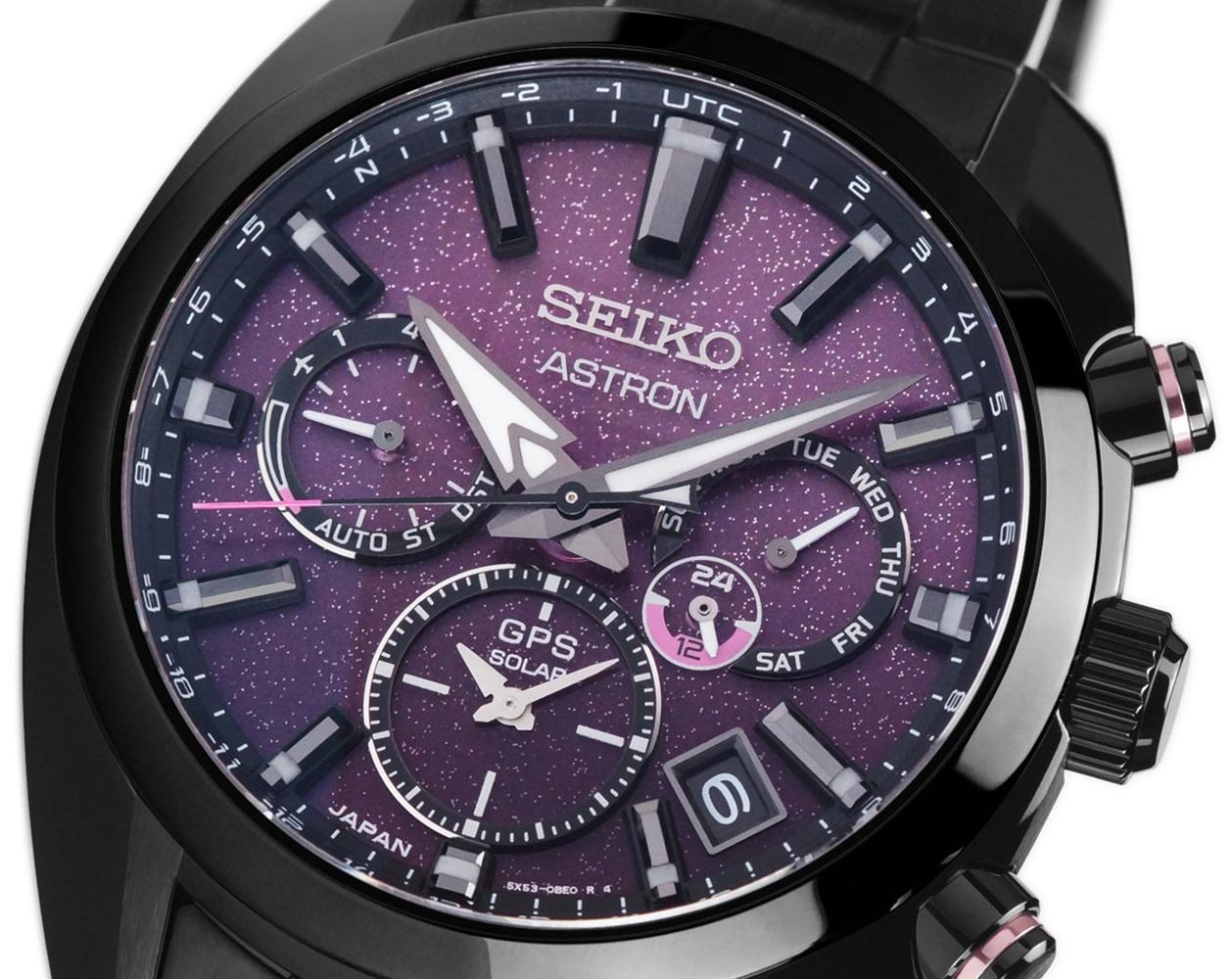 Zegarek męski Seiko astron SSH083J1 - duże 1